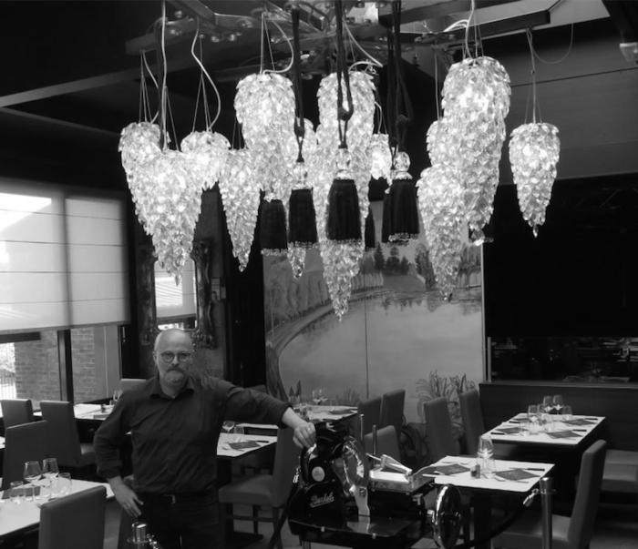 Eric Fermon -Le Chalet de l'étang - Restaurant Bar Dancing de Le Quesnoy (59)
