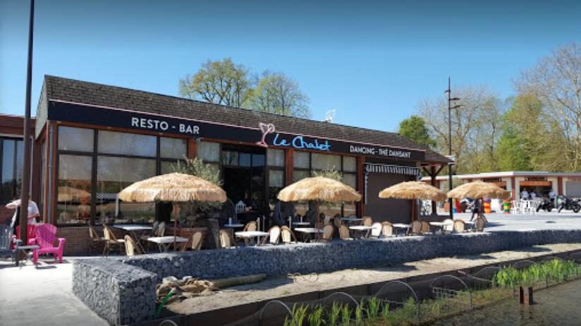 Terrasse - Le Chalet de l'étang - Restaurant Bar Dancing de Le Quesnoy (59)