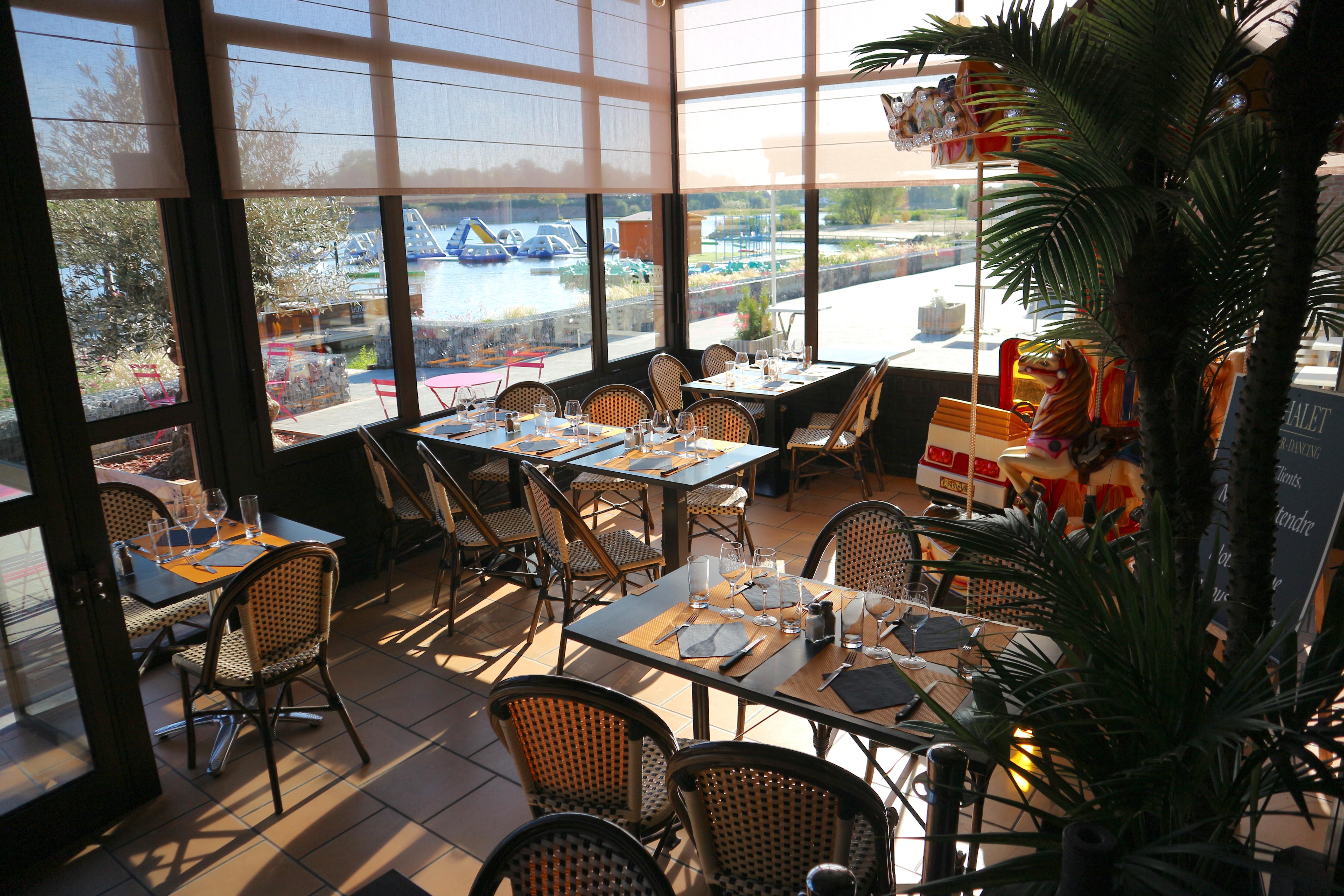 Véranda - Le Chalet de l'étang - Restaurant Bar Dancing de Le Quesnoy (59)