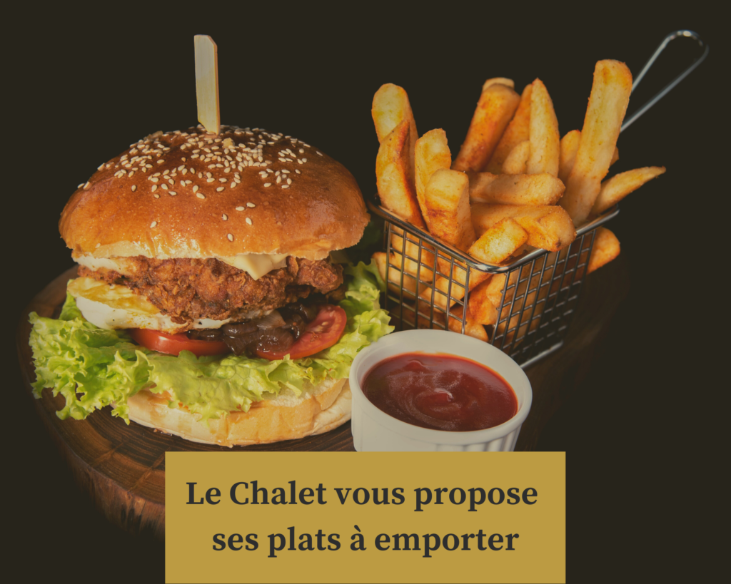 Plat à emporter - Le Chalet Le Quesnoy